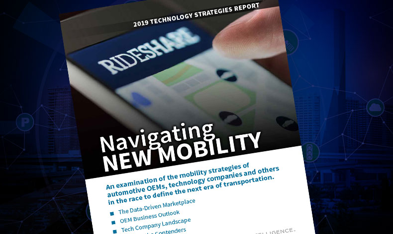 Navigating New Mobility 2019 Report