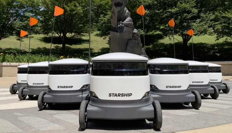 Starship Technologies delivery robots